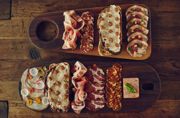 House cured meats at Bestia in Downtown LA.