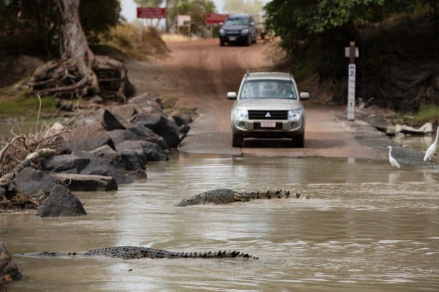 The Arnhem Highway, Northern Territory: There are tougher, rougher roads in Australia – and plenty with creeks that need ...