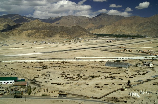 LEH, INDIA. In the depths of the Indus River valley, cradled between peaks that soar to 5500 metres, this is one of the ...