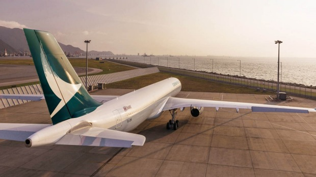 Cathay Pacific Airbus A330-300.