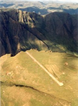 MATEKANE, LESOTHO. Located in the mountainous interior of Lesotho, runway 07 requires nerves of steel. The 400 metre ...