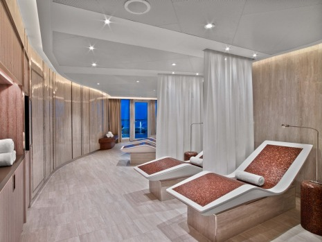Seabourn Encore spa and wellness centre.