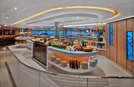 The Colonnade, Seabourn Encore.