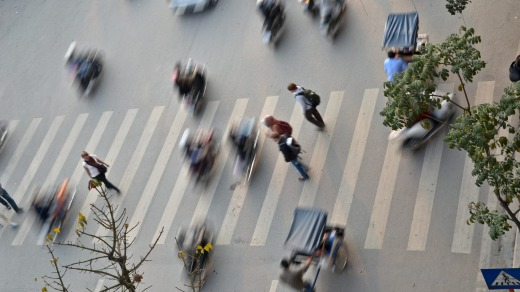 Cities in Vietnam have millions of bikes, consequently crossing the road is known to be a major challange, as no one ...