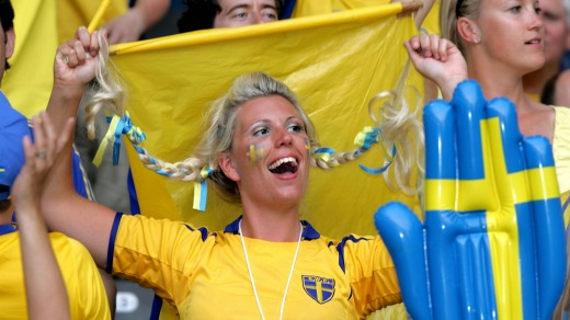 Only seven per cent of Swedes claim their country is the best in the world.