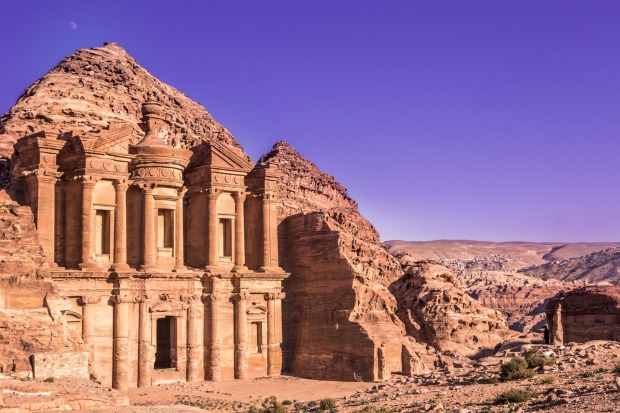 Petra, Jordan: The Monastery (Ad Deir) and its cliffs. Hands-down winner of the prize for Best First Impressions. After ...