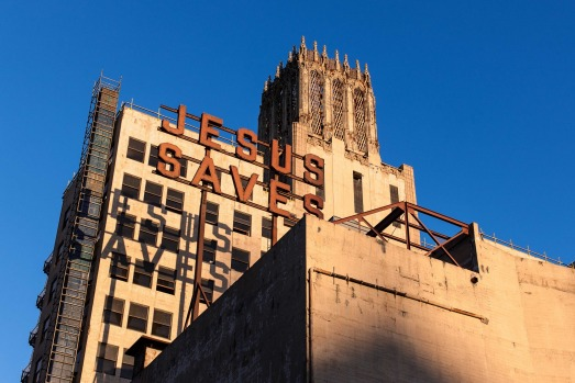 The Ace Hotel, Los Angeles.