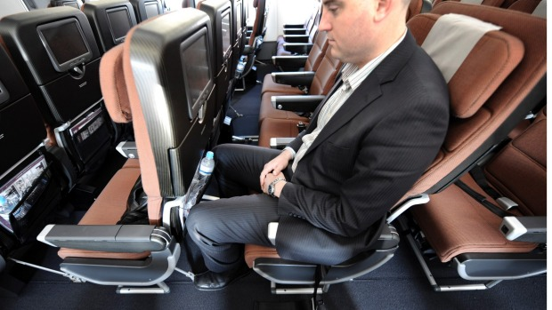 Seat squeeze: Don't recline your seat on short-haul domestic flights.
