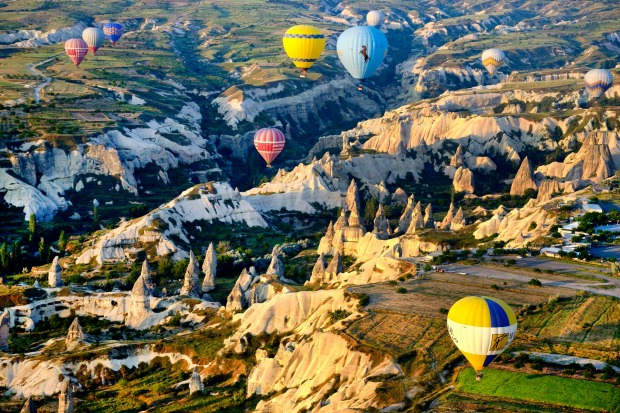 CAPPADOCIA, TURKEY: High above the amazing terrain of this region in Turkey, you feel extremely privileged, and ...