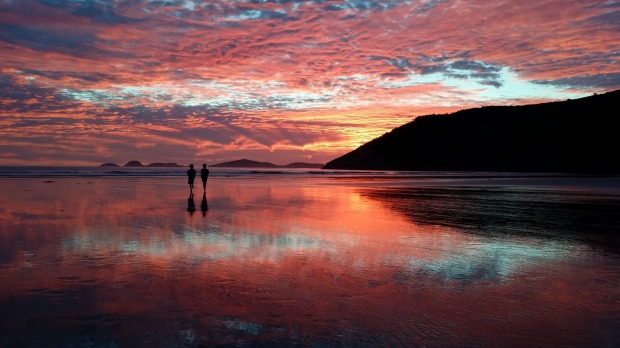 Norman Beach, Wilsons Promontory National Park, Victoria. Each year we make our annual summer pilgrimage. This photo was ...