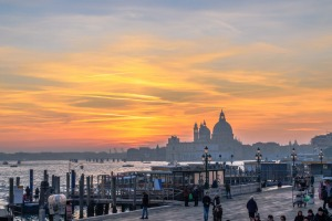 Late afternoon in Venice, was about 2 degrees.