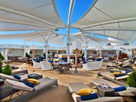 The Retreat on Seabourn Encore: Seabourn Encore: Seabourn's latest and largest cruise ship, carrying 600 passengers, ...