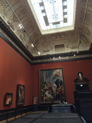 Gallery within the Kunsthistorisches Museum.