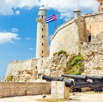 Morro Castle, Lighthouse Havana, Cuba.