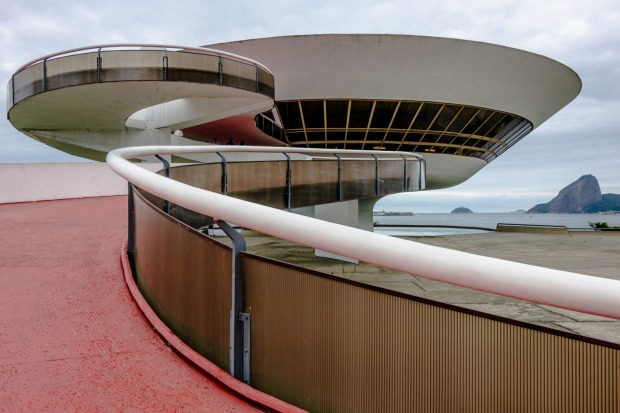 The Niteroi Contemporary Art Museum is situated in the city of Niteroi, Rio de Janeiro, Brazil.