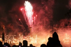 Bonfire Night/Guy Fawkes Night in London, England