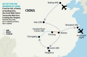 The tour: See China on this exclusive tour by air, boat and coach.
