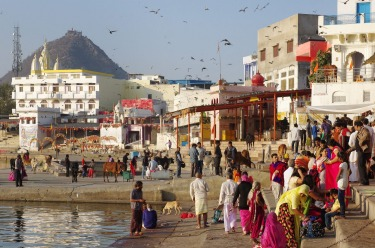 Wandering barefoot through the holy ghats of Pushkar Lake, was an unforgettable experience. Nestled admist the Aravalli ...