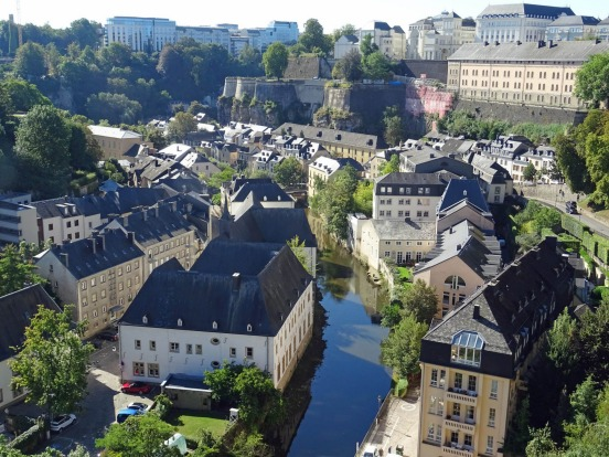 The Pfaffendall district of Luxembourg City.