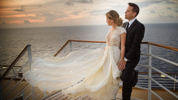 cruise weddings carnival cruise line royal caribbean p