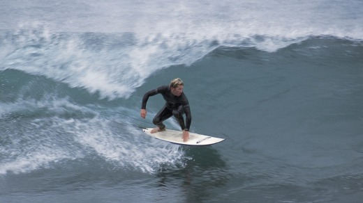 Big waves .... surfing at Innes National Park.