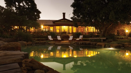 The 34-room luxury resort, Spicers Hidden Vale Retreat, which is built around a 5000-hectare cattle station.
