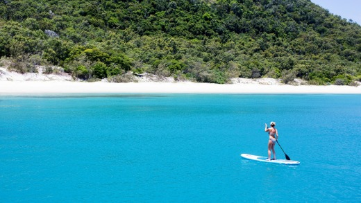 Stand-up paddleboarding, Qualia.