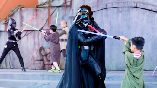May the force be with you. Disneyland, Hong Kong