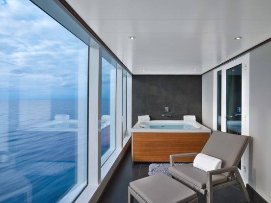 Seabourn Encore's Wintergarden Suite: Seabourn's latest and largest cruise ship, carrying 600 passengers, started ...