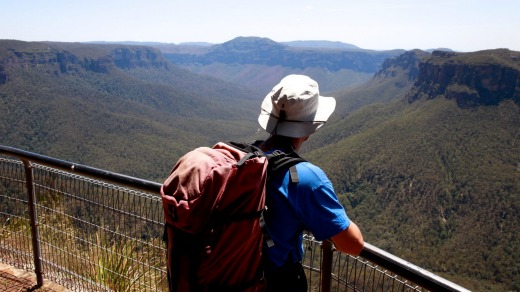 The Grand Canyon circuit: Evans Lookout.