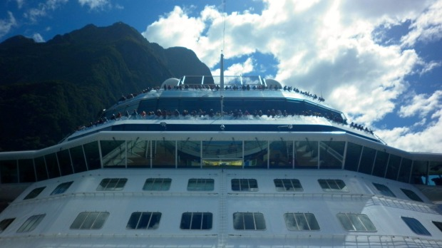 the cruise director wild weather ocean swells and missed itineraries