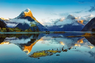 We were told it rains in Milford Sound 300 out of 365 days a year, and is fogged in many of the remaining 65 days. So ...