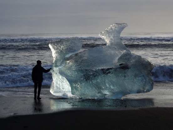 A day spent at the Jokulsarlon Glacial Lagoon on the East coast of Iceland. Walking along the coastline constantly ...