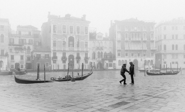Whilst the thick mist on the Grand Canal of Venice deterred many tourists from venturing out on this winter morning, the ...