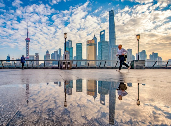 Despite its ultramodern skyline and massive population, people get on with the simple things of life in Shanghai. As the ...