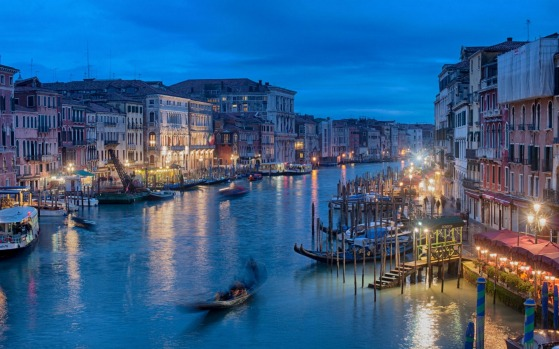 FINALISTS: Evening relaxation on the Grand Canal in Venice. A trip to Italy was high on the bucket list of my wife and ...