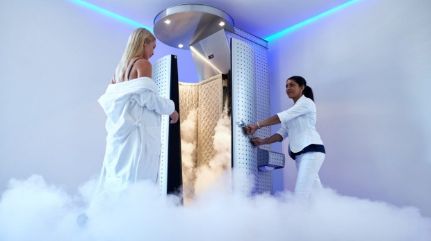 Cryotherapy – cryo comes from the Greek word for 'icy' or 'cold'.