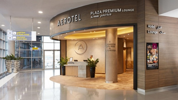 Aerotel abu dhabi review a new concept in transit hotels aerotel abu dhabis reception solutioingenieria Gallery