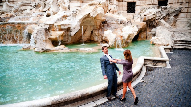The Trevi Fountain is Rome's most romantic spot.