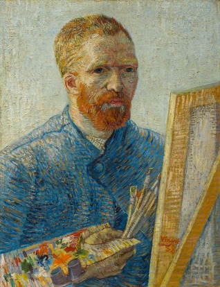 Vincent van Gogh self-portrait, Amsterdam Van Gough Museum. This is the planet's largest collection of Van Gogh works ...