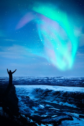 NORTHERN LIGHTS, SCANDINAVIA. The further north you can get, the greater the chance of seeing them – standing in the ...