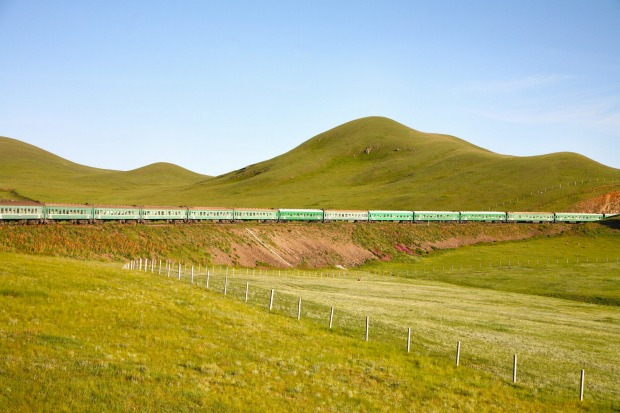 Trans-Mongolian Railway from Beijing, China to Ulaanbaatar, Mongolia. It's an almost unimaginably long journey – about ...