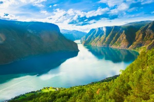 Norway's magnificent   Sognefjord.