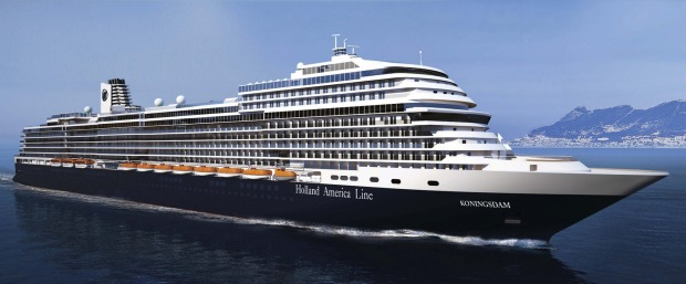 Koningsdam: The first ship from Holland America Line in years, launched in April 2016, sets a new benchmark for the ...