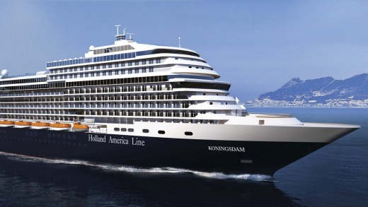 The MS Koningsdam.