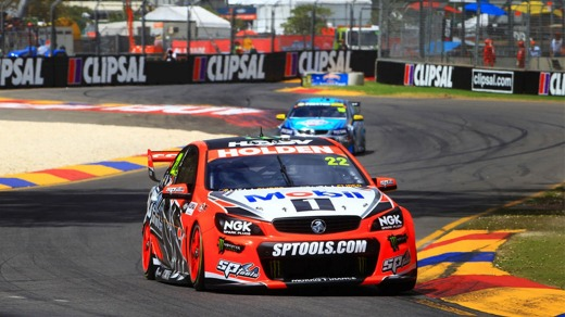 Team Holden fire up all cylinders.