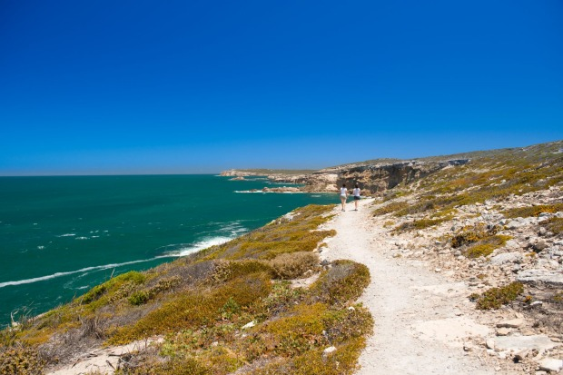 Views along the South Australian coastline on the Yorke Peninsula.