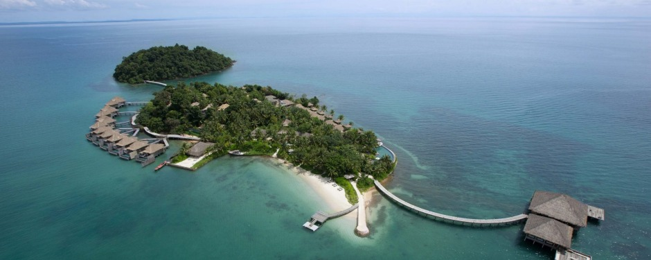 Song Saa is a luxury resort on a private, jungle-covered island.