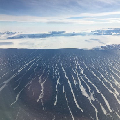 Winds whipping up the ocean around Antarctica.