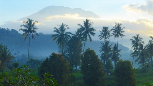 East Bali is that image you had of Bali – all mountains, rice paddies and forest.